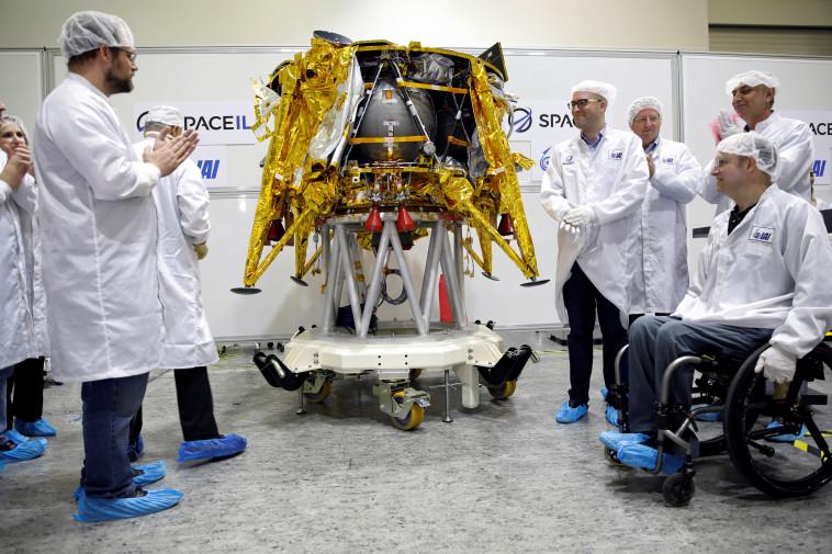 החללית הישראלית הראשונה. צילום: רויטרס