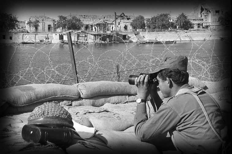 מלחמת ההתשה חזית מצרים סואץ (צילום: משה מילנר, לע''מ)