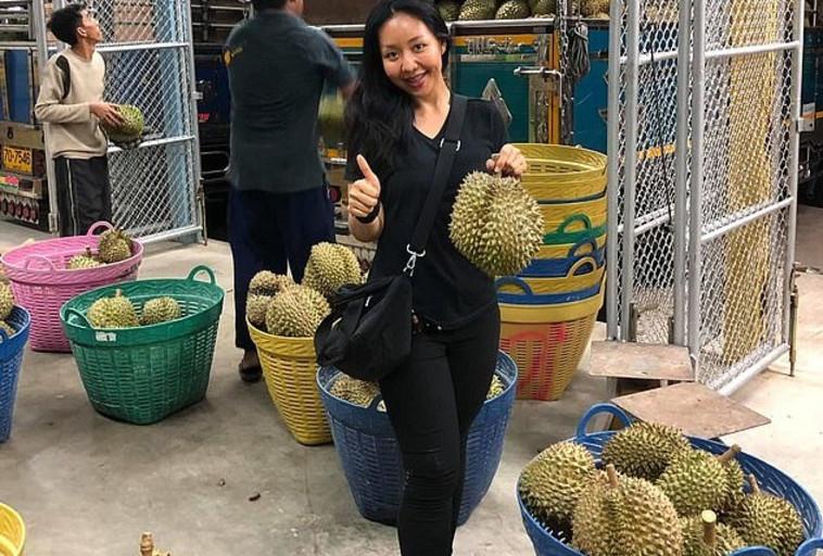 קרנסיטה עם פירות הדוריאן. צילום: פייסבוק