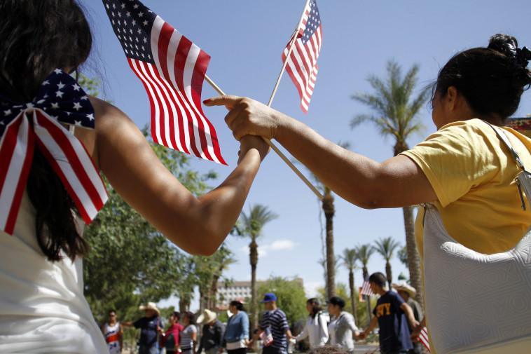 היספאנים בארצות הברית, צילום: רויטרס