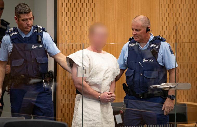 החשוד העיקרי בטבח בניו זילנד. צילום: רויטרס