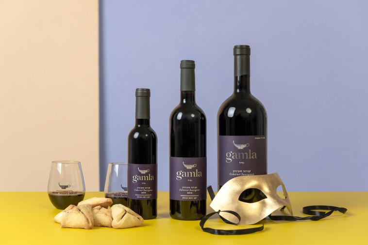 יין בכל הגדלים גמלא קברנה סובניון (צילום: טל ציפורן)