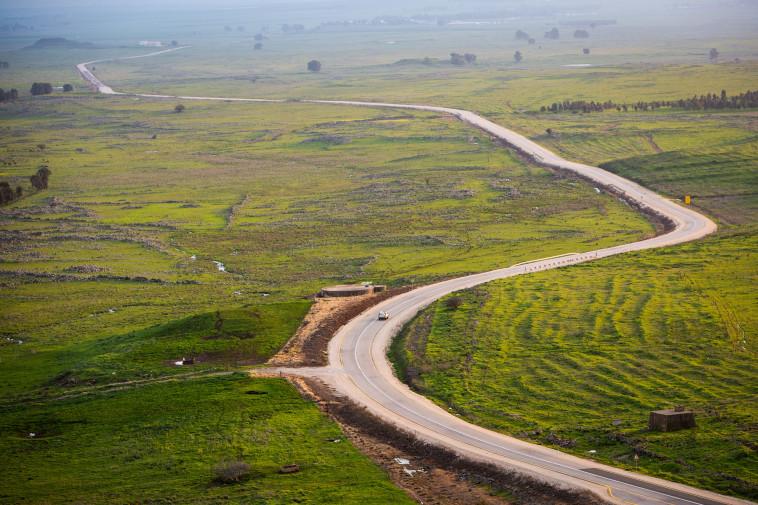 גבול ישראל - סוריה (צילום: מאור קינסבורסקי, פלאש 90)