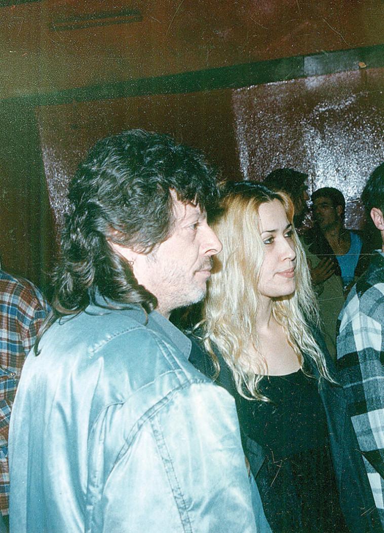 טל גורדון וסולו יורמן, 1994. צלם : קוקו