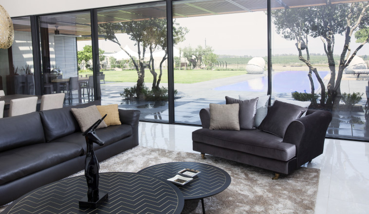 NISO רהיטי יוקרה (צילום: רן גולני)