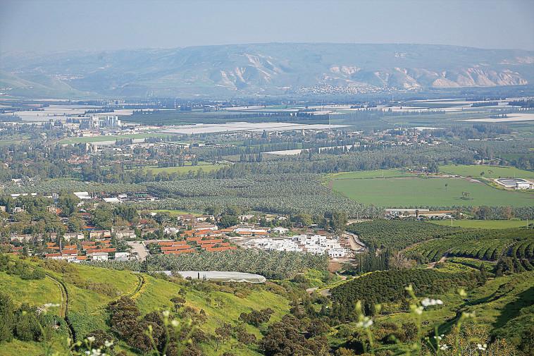המועצה האזורית עמק הירדן. צלם: אריאל בשור