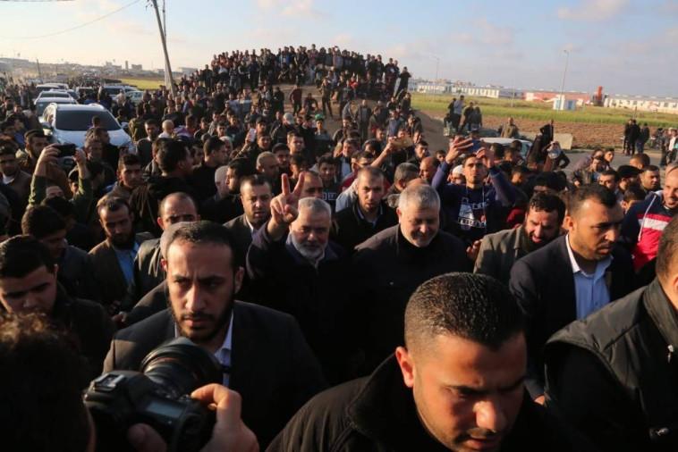 הנייה הגיע לאחד ממוקדי ההפגנות. צילום: רשתות ערביות