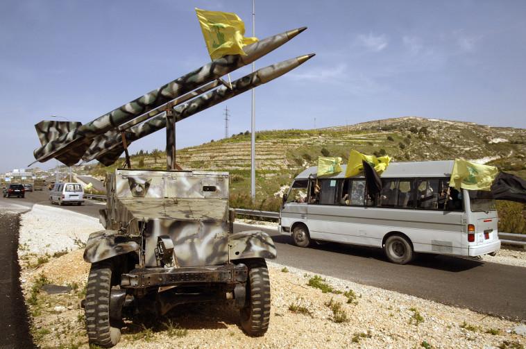טילים של חיזבאללה. צילום :AFP