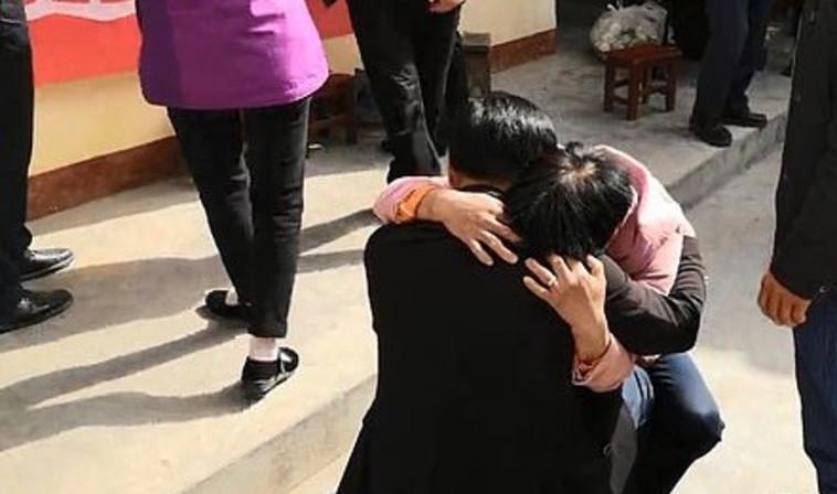 צ'ו וונבין עם הוריו. צילום: יוטיוב