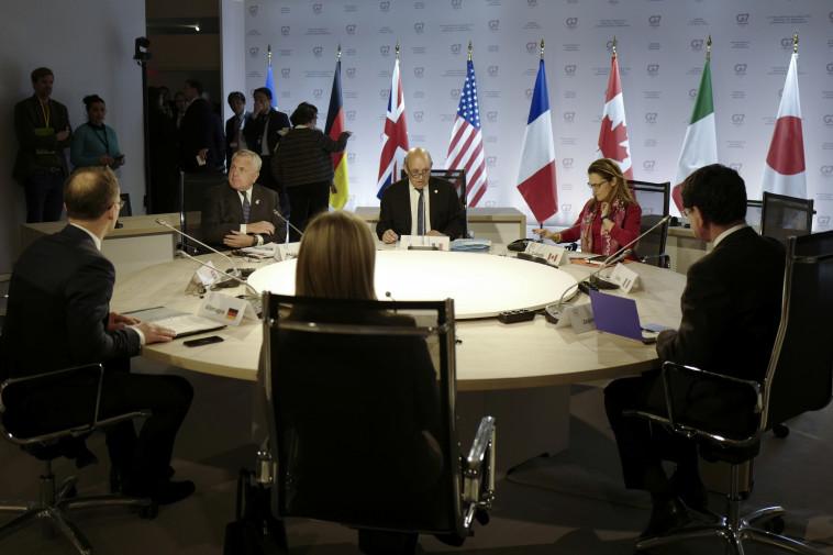 ועידת ה-G7. צילום: רויטרס