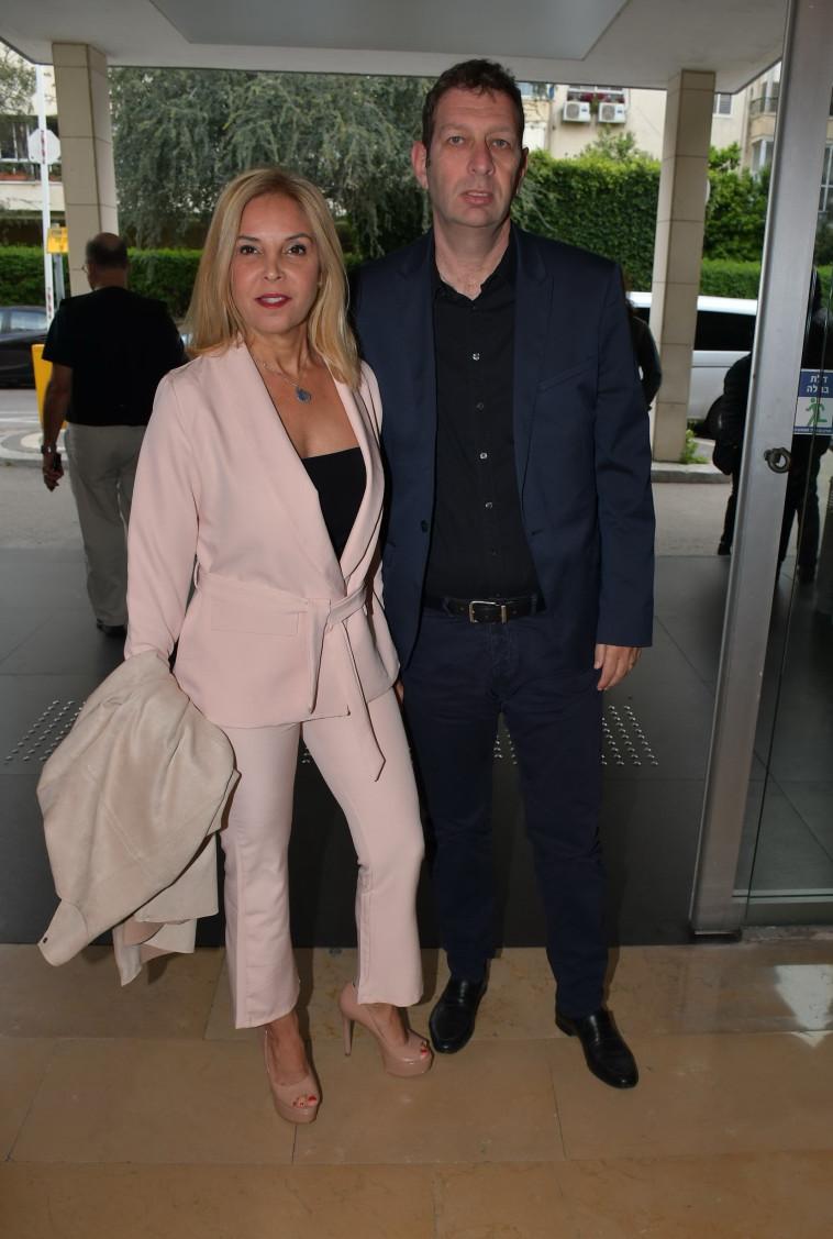 בועז ואיילה מולדבסקי (צילום: אביב חופי)