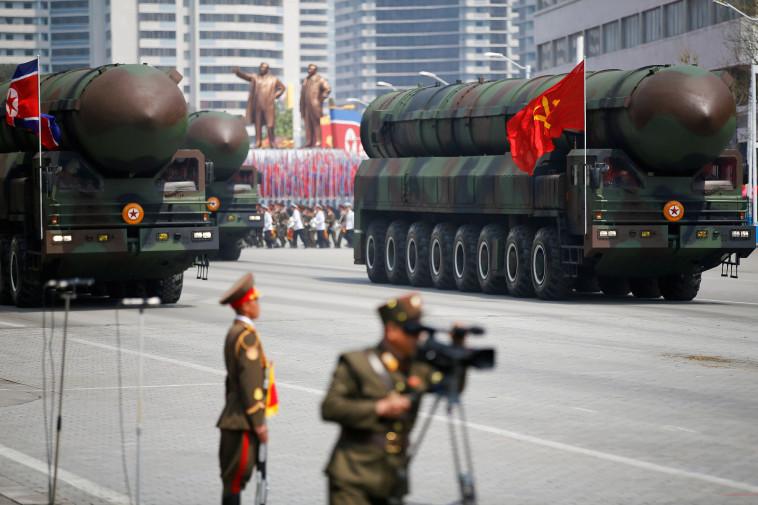 טילים בליסטיים, קוריאה הצפונית. צילום: רויטרס