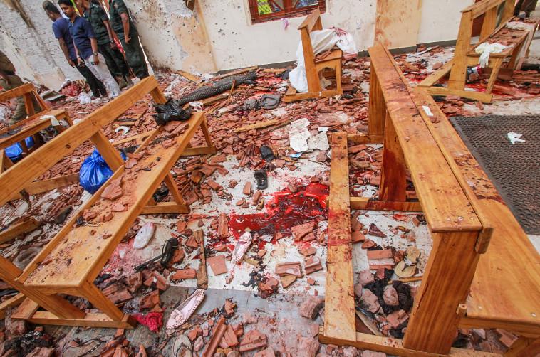מראות איומים באחת הכנסיות. צילום: רויטרס