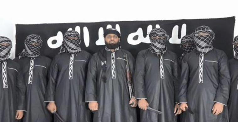 מחבלי דאעש. צילום: רשתות ערביות