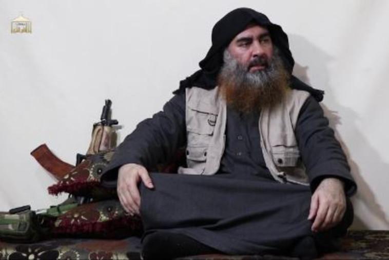 מנהיג דאעש, אבו בכר אל בגדאדי. צילום: רשתות ערביות