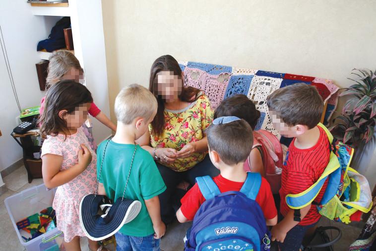גן ילדים, אילוסטרציה (למצולמים אין קשר לנאמר בכתבה). צילום: גרשון אלינסון, פלאש 90