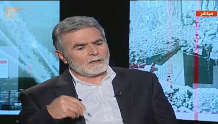 Secretario General de la Jihad Islámica, Ziad Nahala (Foto: captura de pantalla)