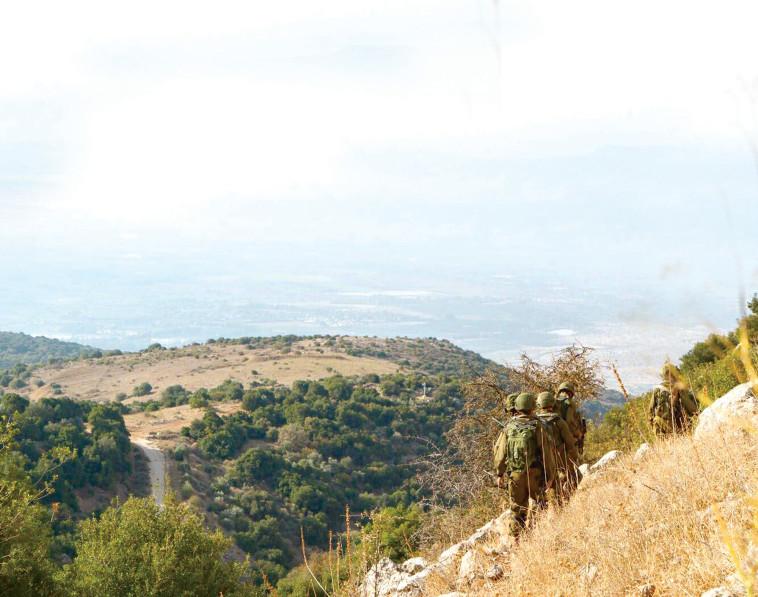 הר דב (צילום: דובר צה''ל)