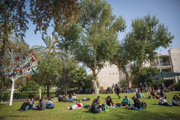 סטודנטים בקמפוס רחובות של האוניברסיטה העברית, ארכיון (למצולמים אין קשר לנאמר בכתבה) (צילום: מרים אלסטר, פלאש 90)