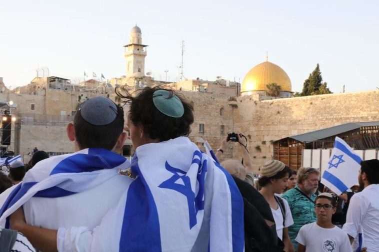 מצעד הדגלים (צילום: מרק ישראל סלם)