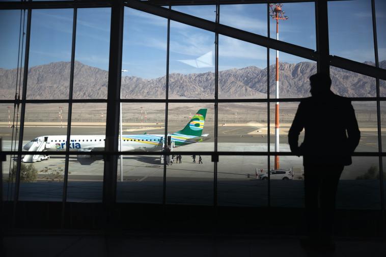 שדה התעופה רמון. צילום: יונתן זינדל, פלאש 90