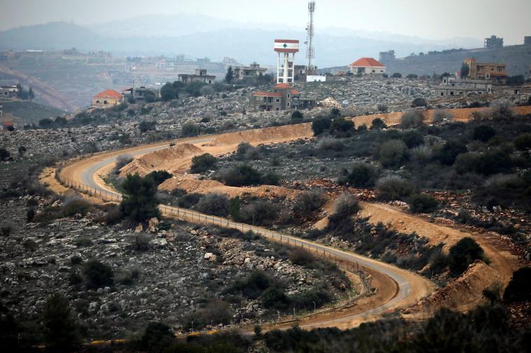 גבול ישראל לבנון (צילום: REUTERS/Amir Cohen)