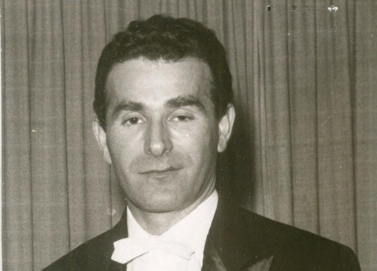 לאסלו רוט, שנת 1973. צלם : יצחק ברז