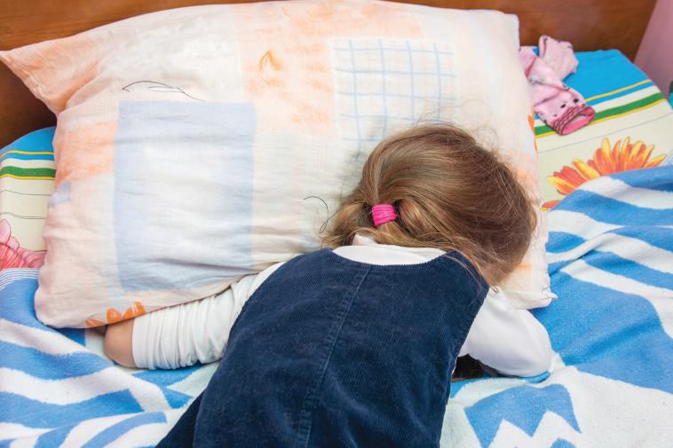 ילדה בוכה, אילוסטרציה (למצולמת אין קשר לנאמר בכתבה) (צילום: אינג אימג')