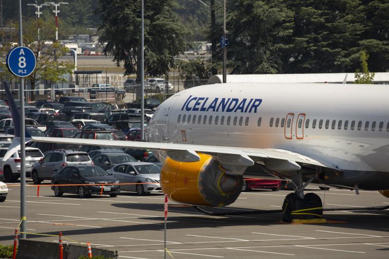 מטוסי בואינג 737 בחניון של החברה בסיאטל. צילום:  David Ryder / Stringer / Getty Images