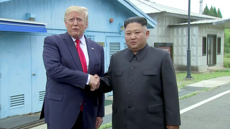 דונלד טראמפ וקים ג'ונג און. צילום: רויטרס