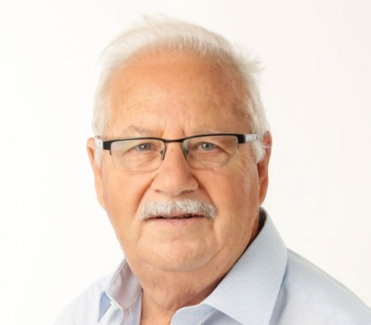 פרופסור שמעון גפשטיין. צלם : ארז ביט