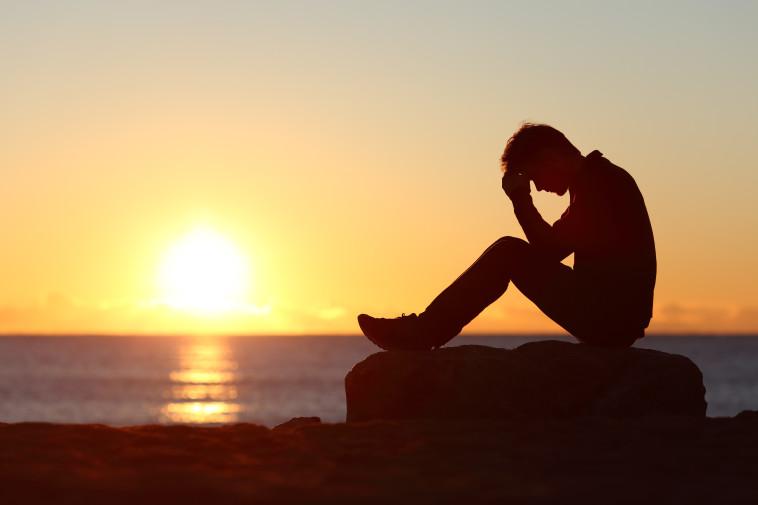 דיכאון, אילוסטרציה (צילום: אינג אימג')