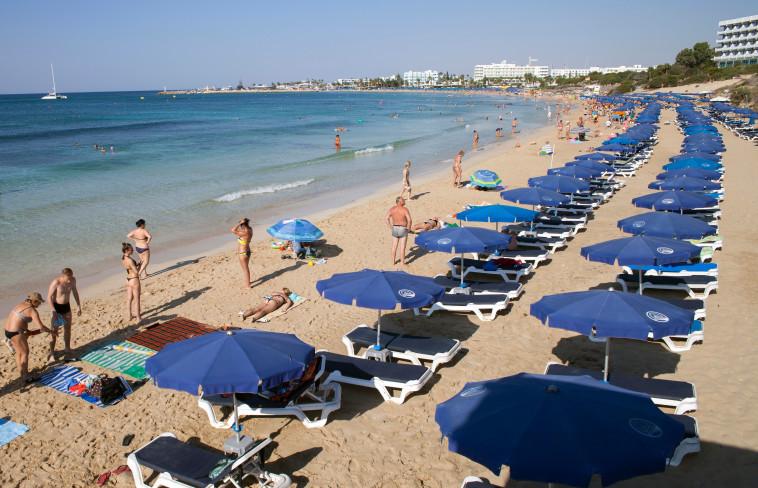 איה נאפה, קפריסין (צילום: AFP)