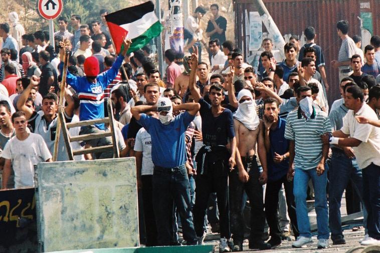 מהומות אוקטובר 2000 (צילום: יוסי זמיר פלאש  90)