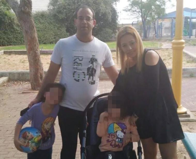 """אופיר חסדי (ז""""ל) ומשפחתו. קרדיט: באדיבות המשפחה"""