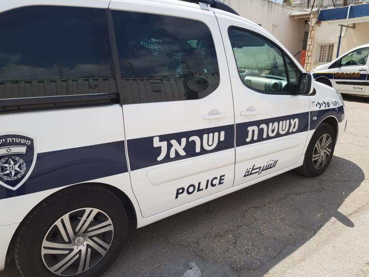 ניידת משטרה, אילוסטרציה (צילום: דוברות המשטרה)