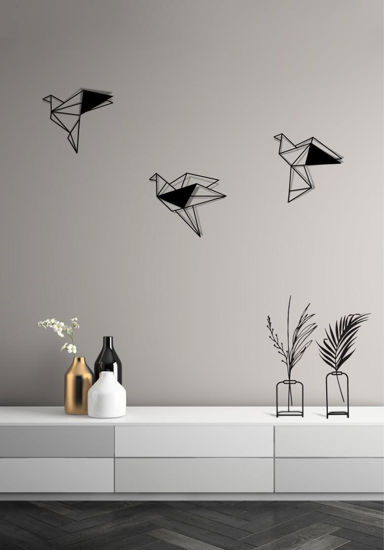אוריגמי תלת מימד ואגרטלים ממתכת, גליפס. צילום: לינור שטורם