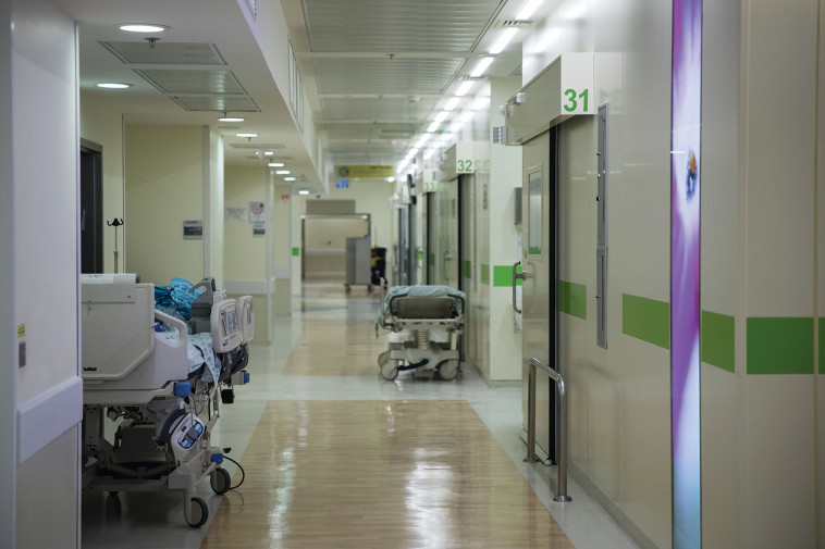 מסדרון בית חולים, ארכיון (צילום: הדס פרוש, פלאש 90)