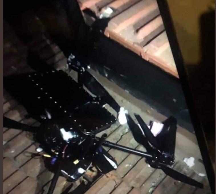 """אחד המל""""טים שנפלו בלבנון. צילום: רשתות ערביות"""