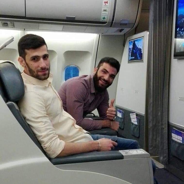 """המחבלים באחת מטיסותיהן לאיראן, בחברת ״Mahan Air"""", לצרכי הכשרה. באדיבות דו""""צ"""