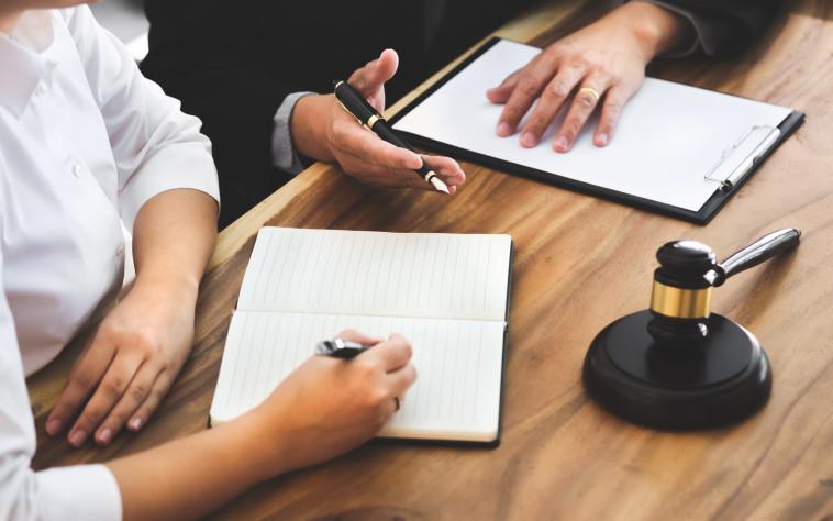 עורכת דין - אילוסטרציה (צילום: אינגאימג')