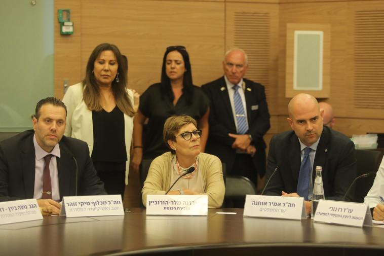 אמיר אוחנה ומיקי זוהר (צילום: מרק ישראל סלם)