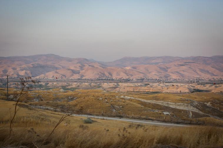 בקעת הירדן (צילום: הדס פרוש, פלאש 90)