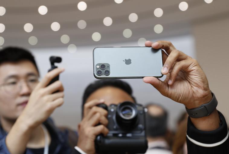אייפון 11 פרו (צילום: רויטרס)