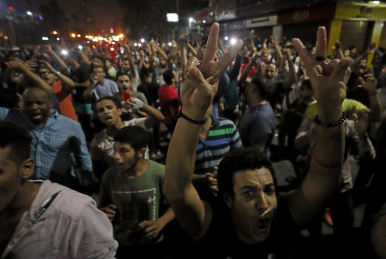 הפגנה במצרים. צילום: רויטרס