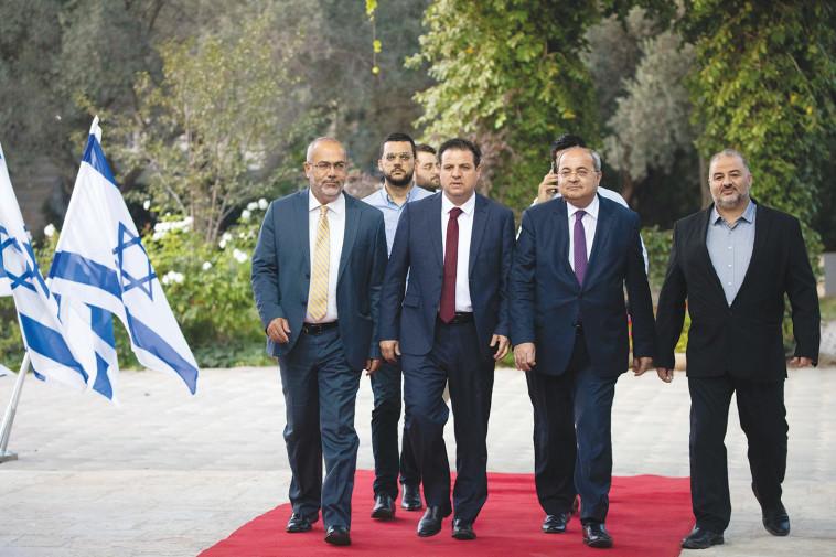 אין למפלגות הערביות עניין בקיום מדינת ישראל. צילום: יונתן זינדל, פלאש 90