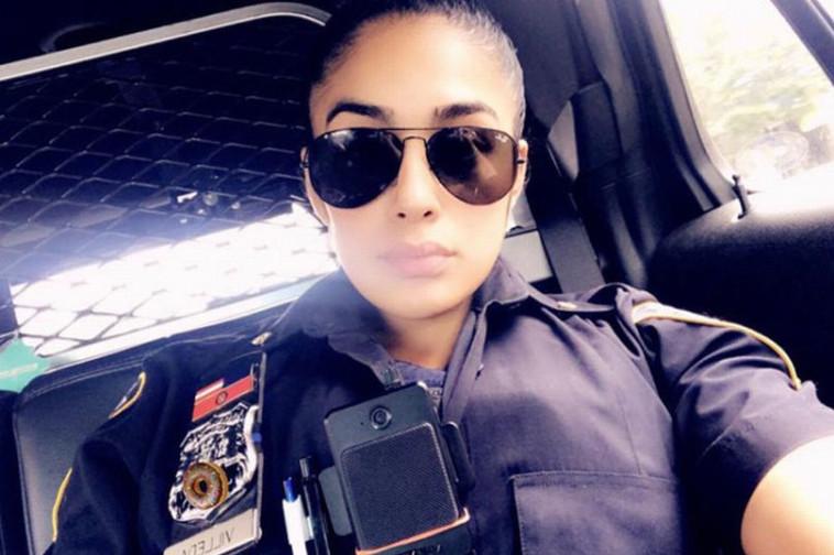 השוטרת וילדה בתפקיד (צילום: אינסטגרם)