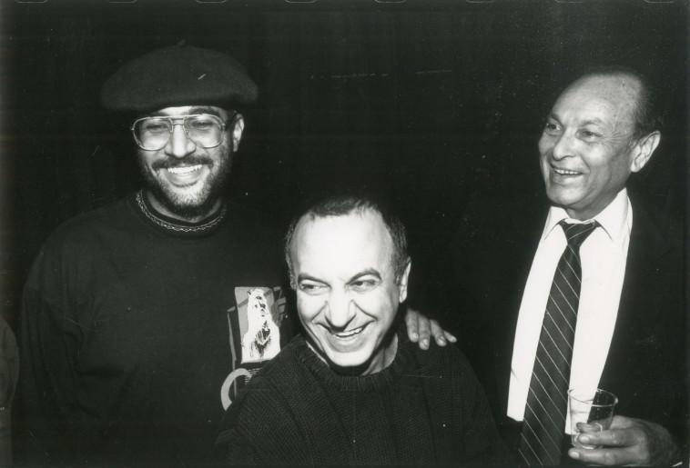 שנת 1991 רמי דנון ויצחק מודעי. צלם : נאור רהב