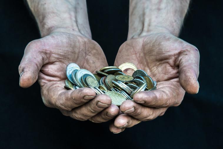 כסף, הומלס (צילום: אינג אימג')