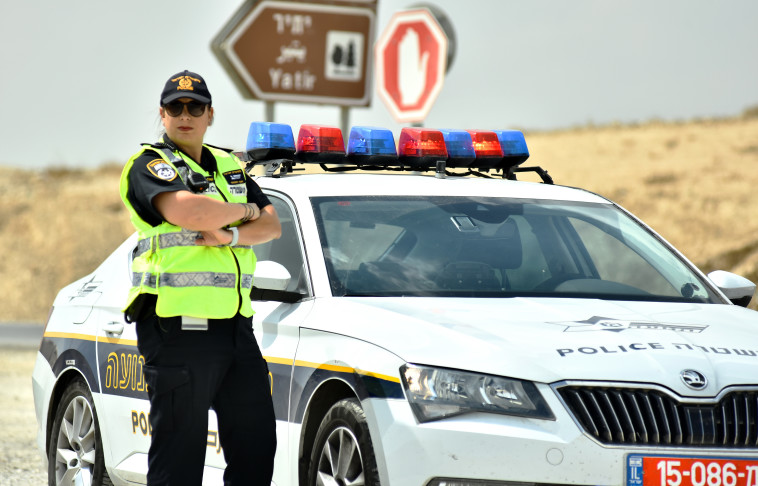 """רפ""""ק שלומית אופק. צילום: דוברות המשטרה"""